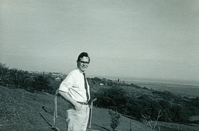 My husband John, at The Army Camp. c. 1965 | Maureen Watson