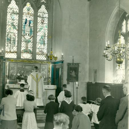 Photo 12: Church Service. Undated | Jackson's Photo Service