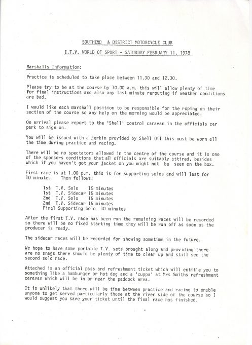 Marshall's information