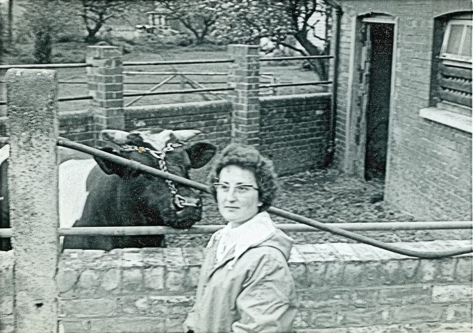Me with 'The Bull'  - May 1965 | Maureen Watson