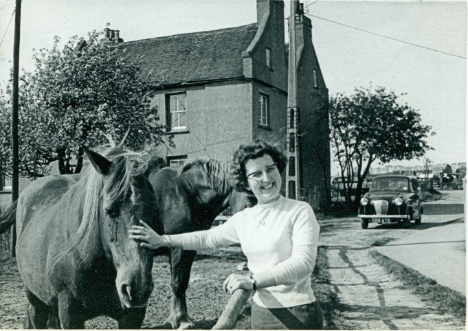 Me again, on The Colony - c 1965 | Maureen Watson