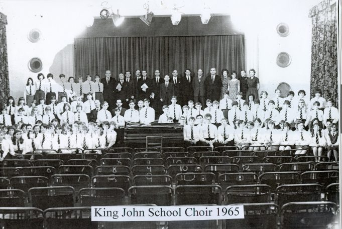 King John School choir 1965 | Glenn Newman