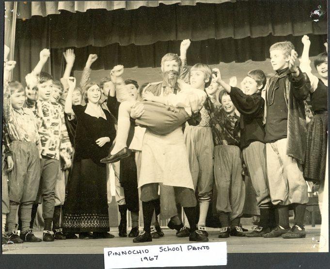 School Pantomime Pinocchio 1967 | Glenn Newman