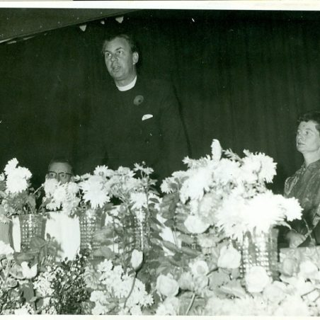 Photo 4: Cllr Ron Williams, Rev A G Banks & Mrs J Banks 1963 but what was this event for? | Terry Babbage, Church Warden, St Mary's Church