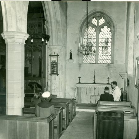 Photo 16:  No information available | Terry Babbage, Church Warden, St Mary's Church