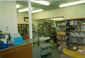 Interior of the old Library | Benfleet Library Staff