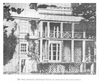 Hadleigh House, as seen from the back lawn | Geoff Barsby from the Nostalgia Magazine