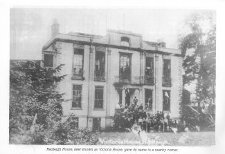 Hadleigh House later known as Victoria House | Geoff Barsby from the Nostalgia Magazine