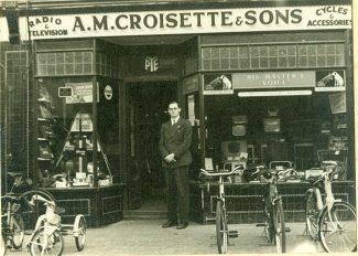 A.M Croisette & Sons, 302 High Road. | Pat Croisette
