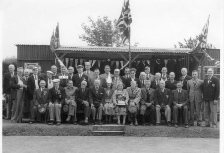 South Benfleet Bowling Club - circa 1955