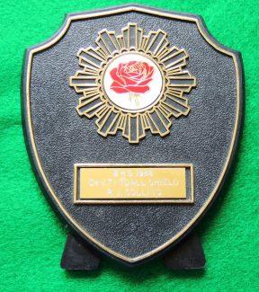 B.H.S. 1988 - Dr. V. Tyndall Shield which was awarded to Mr R. J. Collins | Sandra Shortell (nee Collins)