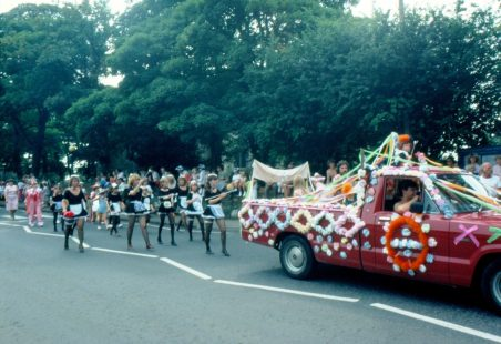 Carnival Procession Through Benfleet