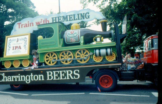 Perhaps the refreshment waggon! | Ronnie Pigram