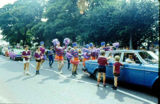 Very colourful but who are they? | Ronnie Pigram