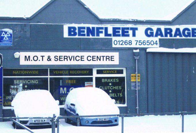 Benfleet Garage   John Downer