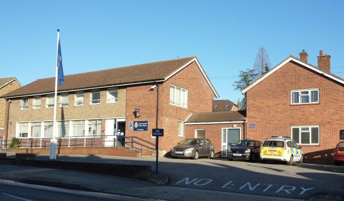 Benfleet police station 2011 | Margaret March