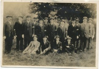 The South Benfleet Special Constables, probably at the end of the war. | Paddy Marrison