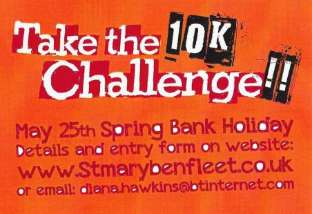 St Mary's Church 10K Challenge