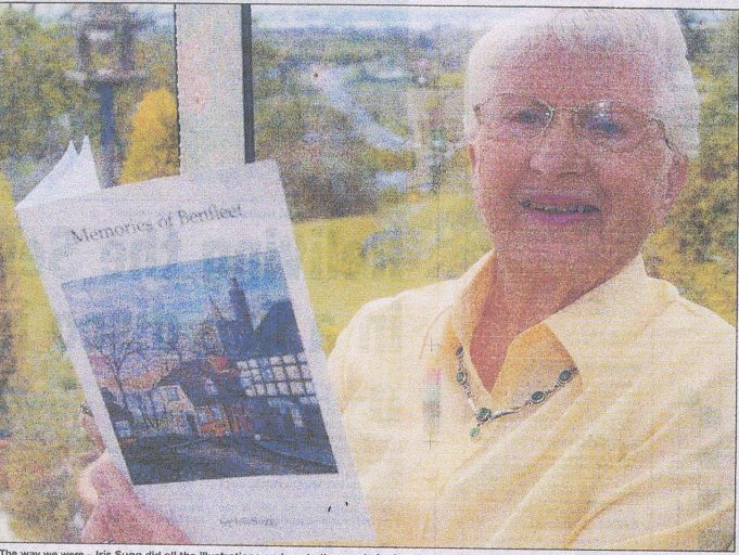 Iris in later years | Evening Echo