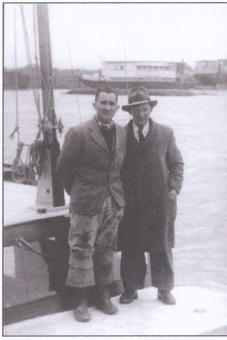 Foreman Cecil Watts (right) and ? | Patricia Pedder