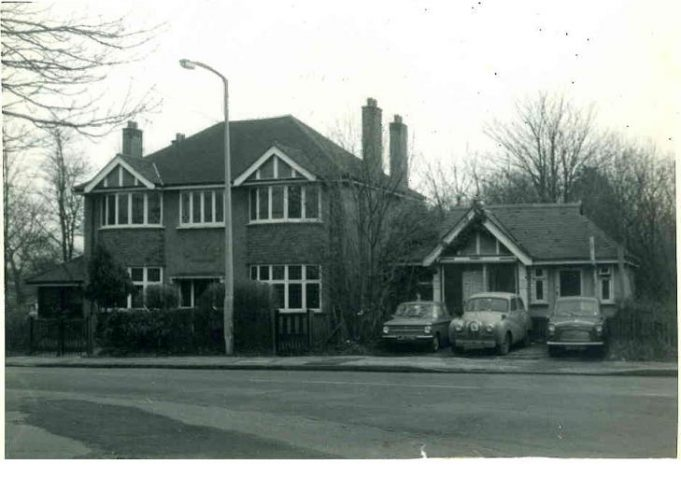 It is believed that this imposing house once stood on the corner of Arcadian Gardens and Rayleigh Road.  It was probably demolished to make way for the new roundabout.  Arcadian Gardens no longer connects directly to the Rayleigh Road.