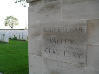 Caterpillar Valley Cemetery.  France. | Copyright.  Mr. Alan Cooper.