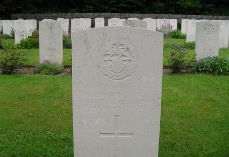 Killed in Action 1917.  Not Commemorated Locally.