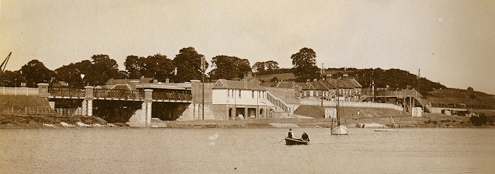 Benfleet Station from The Creek