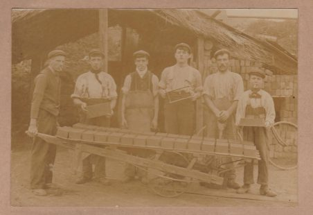 A Brickmaking Team in the Hadleigh/Benfleet Area c.1900