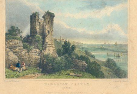 Hadleigh Castle - 1832 Engraving