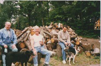 Clearing the land Thundersley Christian Spiritualist Church | Mr. Robert Clements