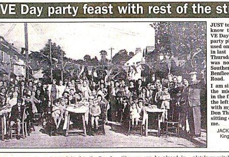 V.E. Day Celebrations