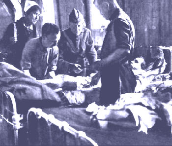 A Military Hospital in WW1 | Image from the internet