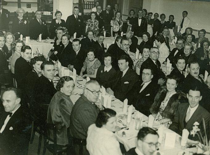 British Legion Dinner c. 1946 - 1953