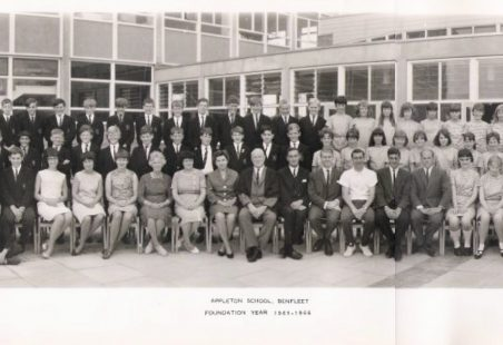 Appleton School, Foundation Year, 1965 - 1966