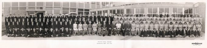 Appleton School first year intake 1965 - 1966 | Kevin Bowden