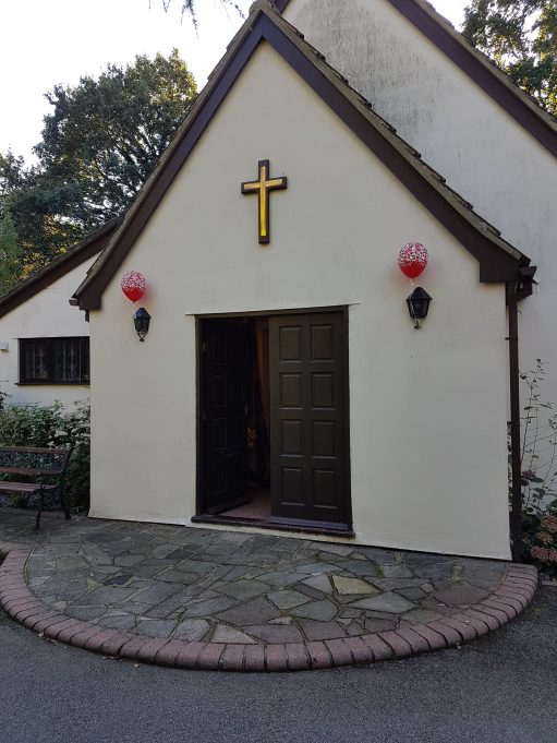 Outside Thundersley Christian Spiritualist Church | Pamela-Jeanetta Bird Gaines