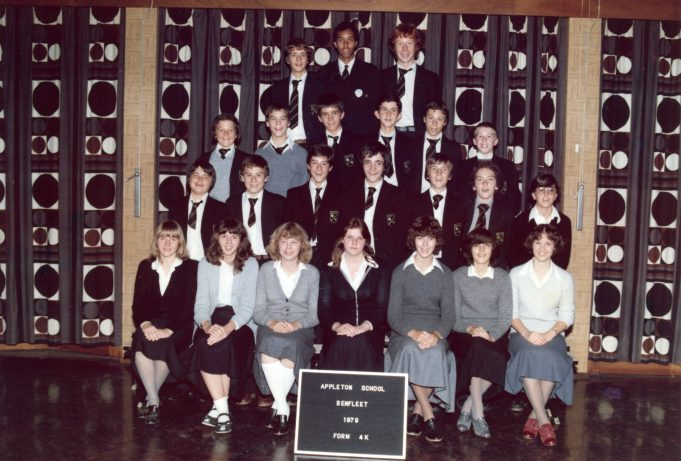 Appleton School 1979 Form 4K