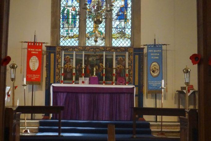 St Mary's Church altar | Jenny Day