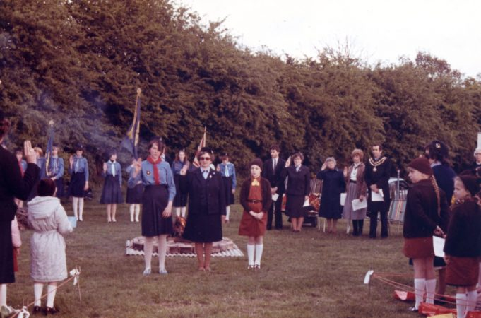 Benfleet District Sponsored campfire to raise money for new Olave House 13.5.1983