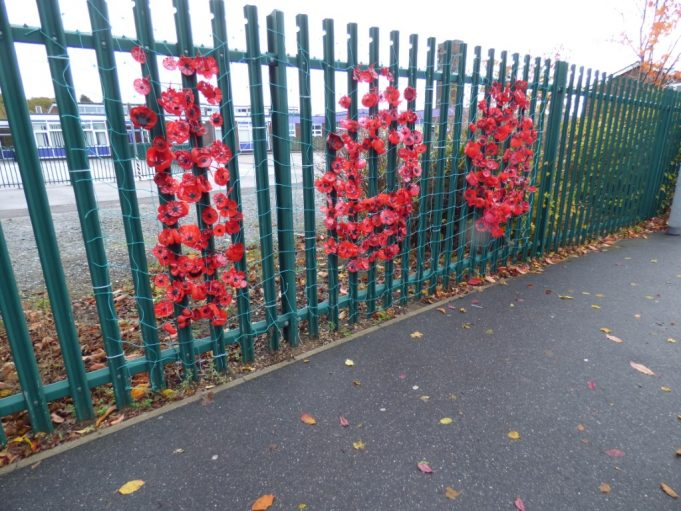 Poppy artwork to mark 100 years ago | Phil Coley