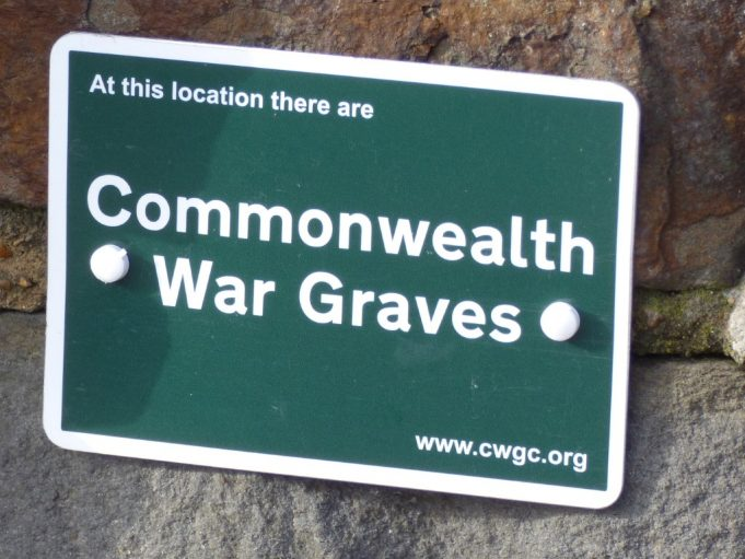 St Marys Church Commonwealth War Grave sign | Phil Coley