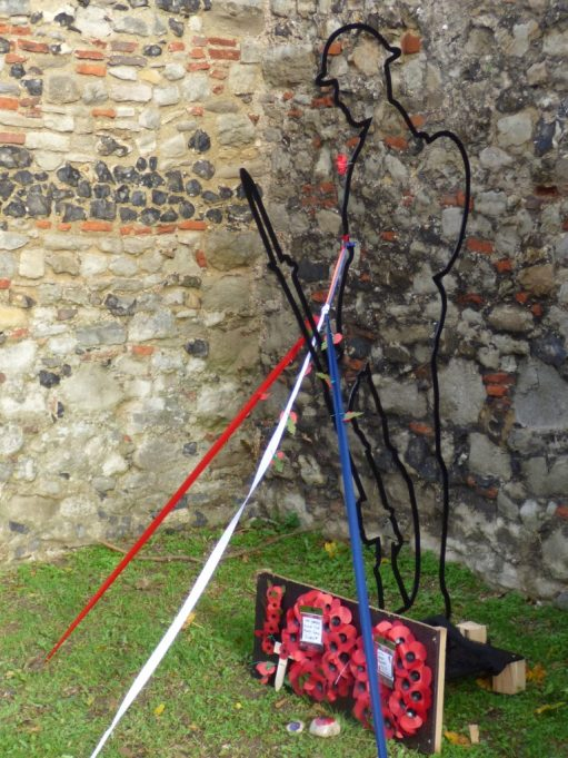 Tommy on guard at St Marys Church Tower | Phil Coley