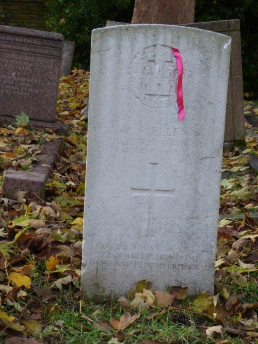 Private VS Ellen of the Essex Regiment died 5th December 1940. Age 28. | Phil Coley