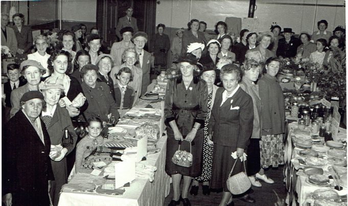 A function at Tarpots Hall in the mid 1950s | Ian Roberts