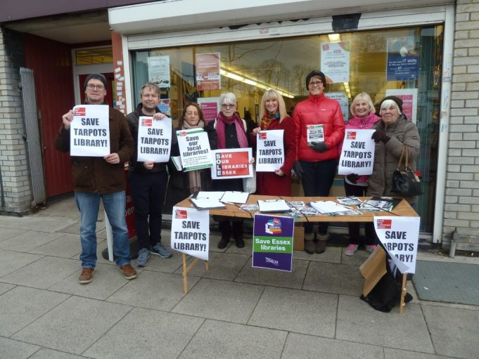 Save Tarpots Library petition | Phil Coley