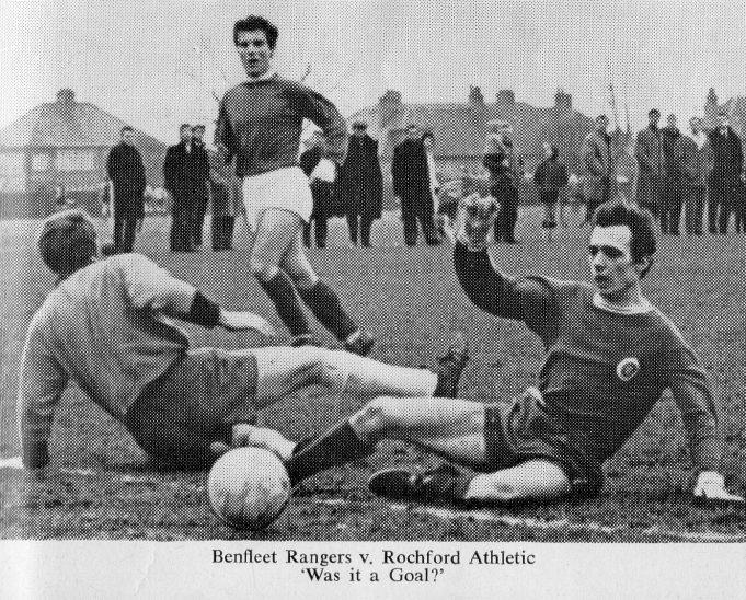 Benfleet Rangers v Rochford Athletic | John Peters / Southend and District Football League Handbook Season 1968-69