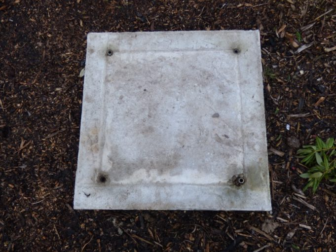 Concrete base the WM Tommy used to stand on. | Phil Coley