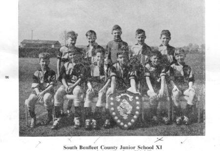 South Benfleet County Junior School XI, 1958/59