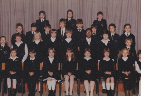 Photo of Appleton School, Class Y5, in our first year 1982